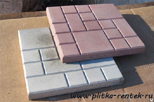 Тротуарная плитка 250х250х25