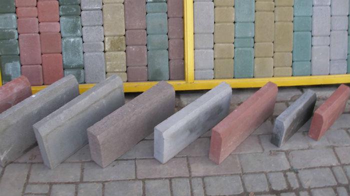 Тротуарная плитка и бордюры