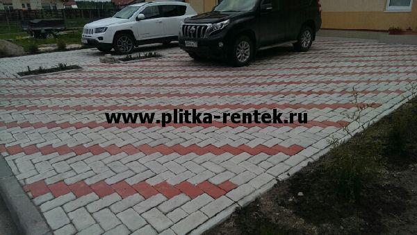 Тротуарная плитка под автомобиль