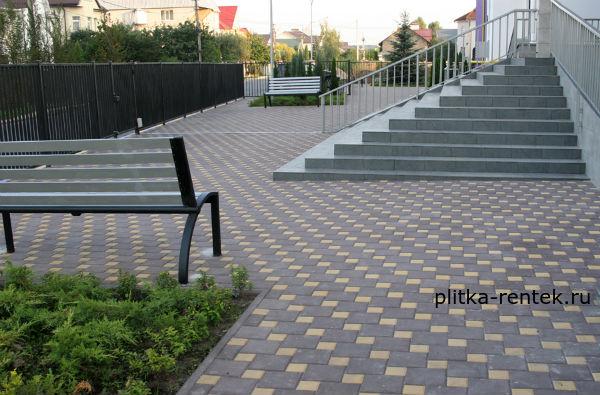 тротуарная плитка в Голицыно-фото